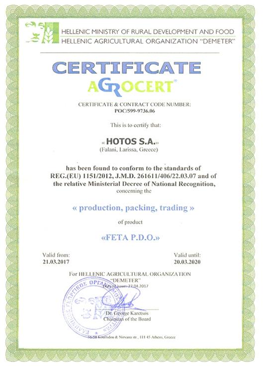 REG.(EU) 1151/2012, J.M.D. 261611/406/22.03.07
