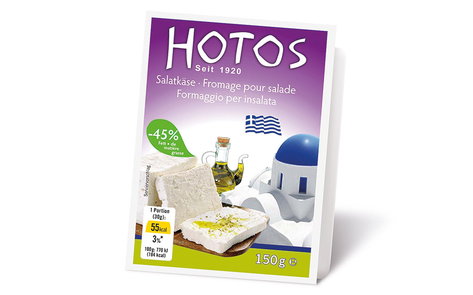 Hotos LIGHT cheese in vacuum